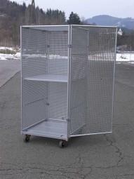 Rollbehälter Alu-Safe 720x810x1450