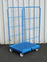 Rollbehälter 720x810x1350 Ku Pulv.blau