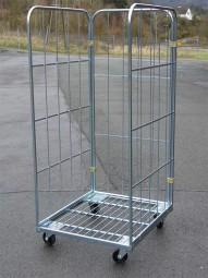 Rollbehälter 720x810x1630 M. 4SR 3WF o.RW